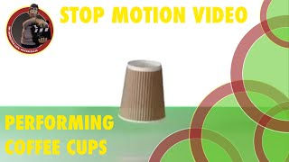 Stop Motion Coffee Cups