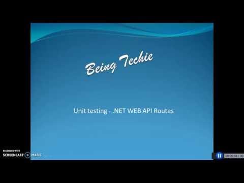 WebAPI Route   Unit Testing
