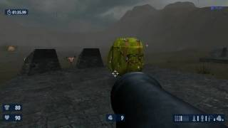 Serious Sam HD: The Second Encounter Survival: Bear City  Gameplay
