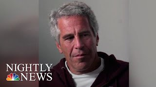 Epstein Accuser Says She Was Ordered To Have Sex With Powerful Men | NBC Nightly News