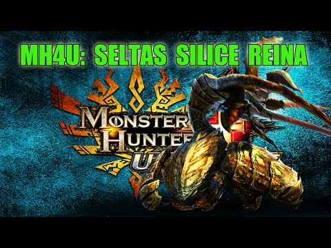 Monster Hunter 4 Ultimate: SELTAS SILICE REINA Caza con Zyno y Silfo - Gameplay
