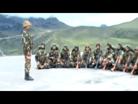 Indian Army Getting Prepare to Tackle Chinese Intruders at Indo-China Border