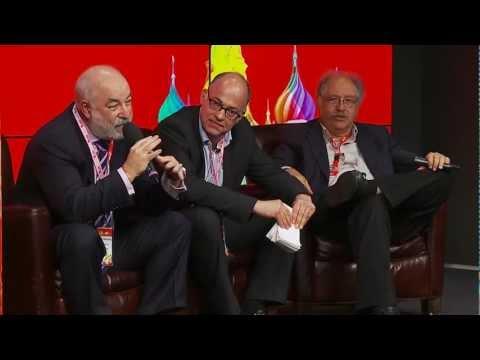 Chairmen's Fireside (Yossi Vardi, Viktor Vekselberg, Ludwig Siegele) | DLDmoscow 12