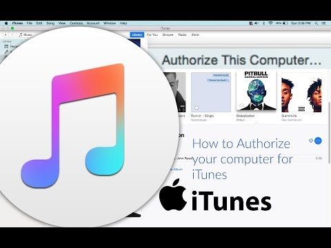 How to Authorize iTunes for Macbook 2016-2017