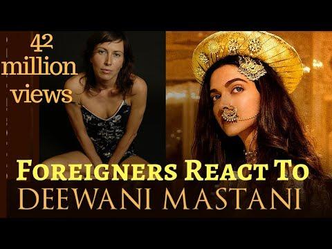 Foreigners React to DEEWANI MASTANI SONG | BAJIRAO MASTANI | DEEPIKA PADUKONE, RANVEER SINGH