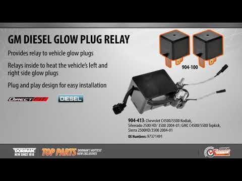 Dorman 904-100 Diesel Glow Plug Relay