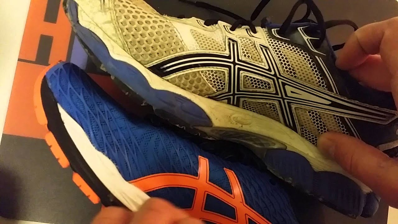 asics kayano 17 vs 18