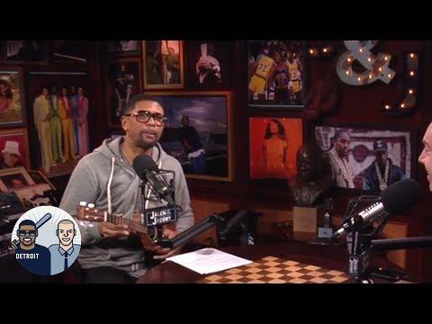 Jalen Rose freestyles while playing the ukulele | Jalen & Jacoby | ESPN