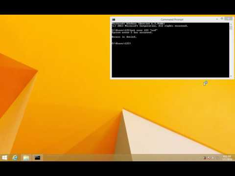 """How to fix """"Access is Denied"""" Command Prompt error (Run as Administrator)"""
