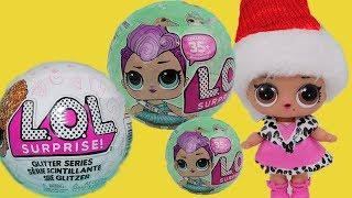 LOL Surprise Куклы лол сюрприз и подарки от Деда Мороза интересные мультики для девочек LOL dolls