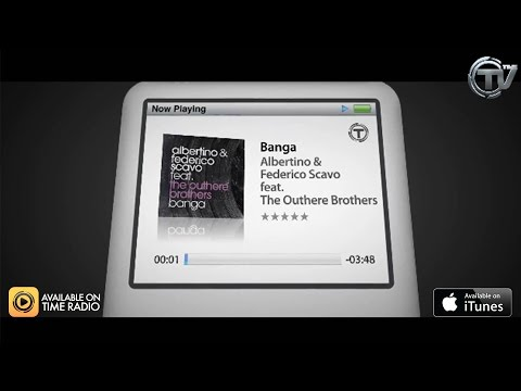 Albertino & Federico Scavo Feat. The Outhere Brothers - Banga (Official Lyrics Video) - Time Records