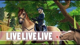 ???? LIVE || NOCNY LIVE ZE STAR STABLE! || Honey Valley - Na żywo