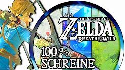 Zelda Breath of the Wild - 100% Schreine/Schreinaufgaben/Shrines von A - Z