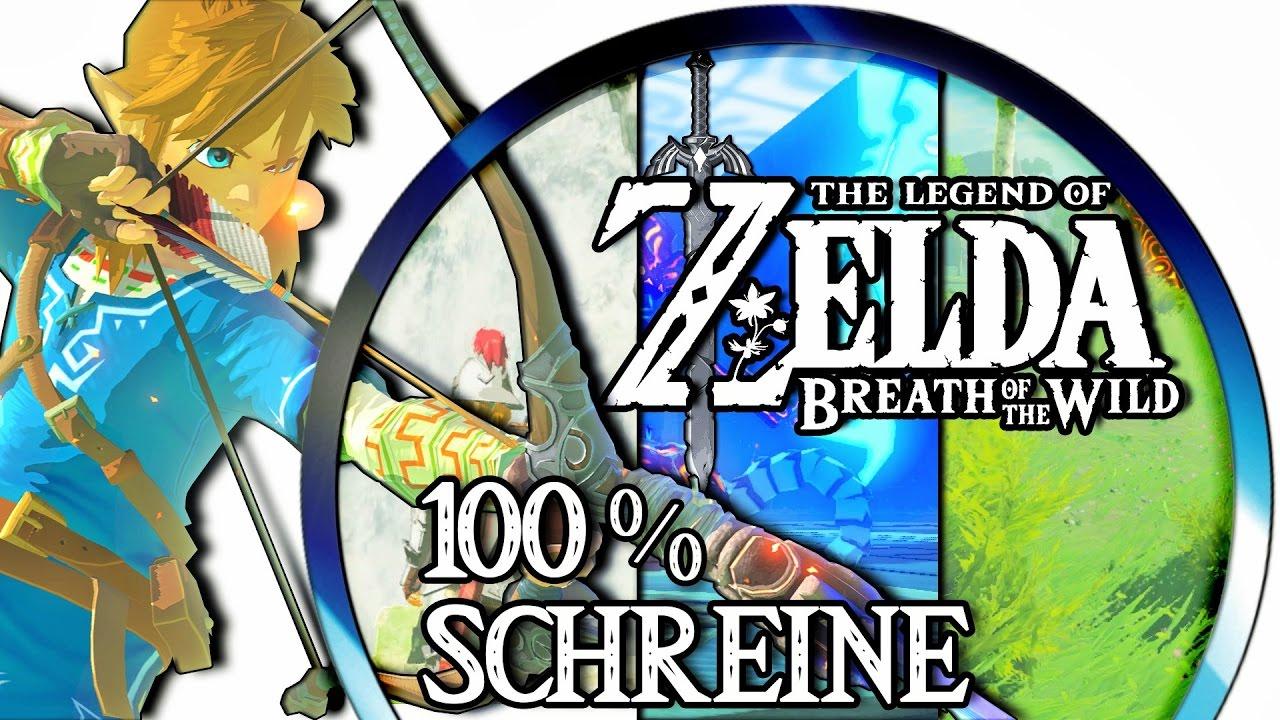 Zelda Botw Alle Schreine Karte.Zelda Breath Of The Wild 100 Schreine Shrines Lösungen Orte Alle Schreine Von A I