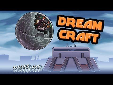 Minecraft   Dream Craft - SECRET SQUARE STAR MISSION! (Star Wars Movie)