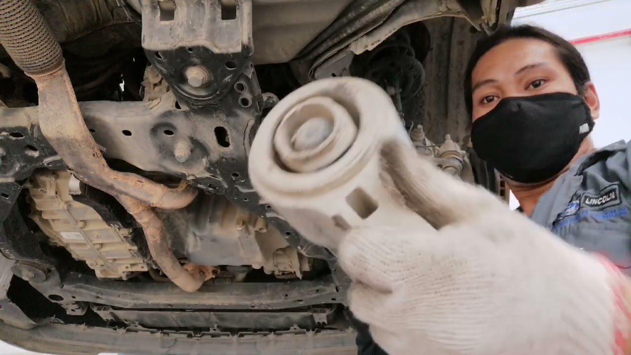 lower control arm(A arm) replacement.ford explorer 2018 by AutonsTV