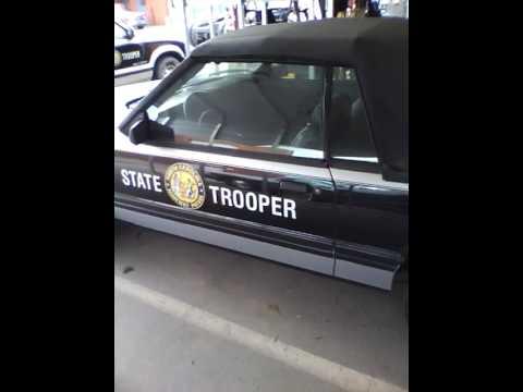 1984 North Carolina State Highway Patrol Mustang GT