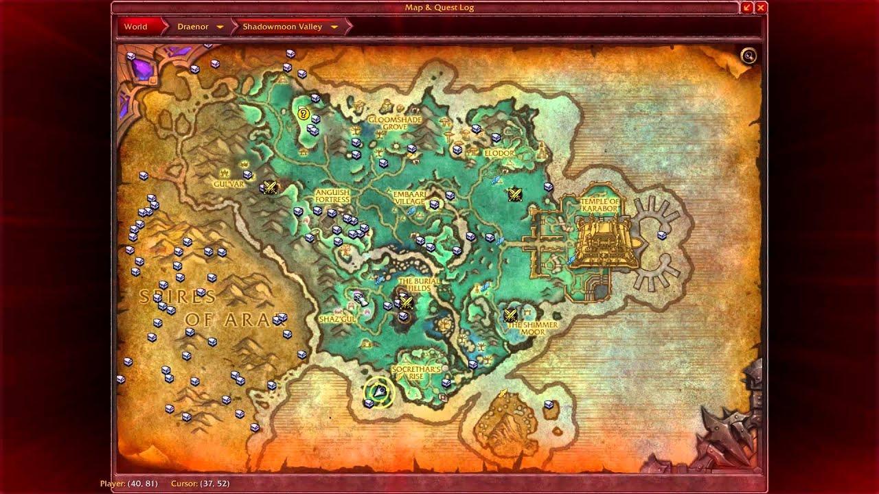 Exploration Shadowmoon Valley Isle of Shadows