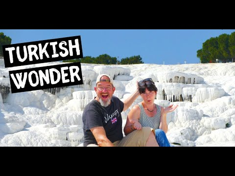 Most unusual place in Turkey? | PAMUKKALE THE COTTON CASTLE