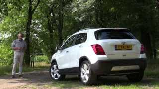 Chevrolet Trax 1.4T 4WD test 2013
