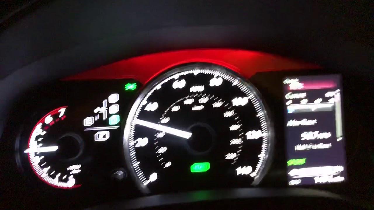 Lexus Ct200h 2018 F Sport Sportmode 0 60
