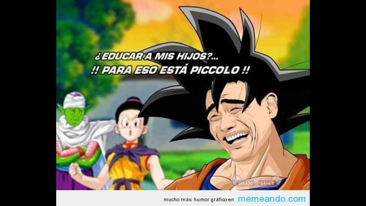 Los Memes Mas Graciosos De Dragon Ball Z Kai Super Y Gt Youtube