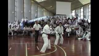 Combats équipe de France Shotokan. Anniversaire 40 ans Israel Shotokan, 2010.