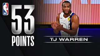 <b>TJ Warren</b> Caught For Career-High 53 PTS!