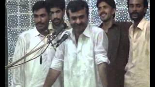 Zakir Qazi Waseem Abbas  majlis jalsa 2014  muhala jawadia Multan