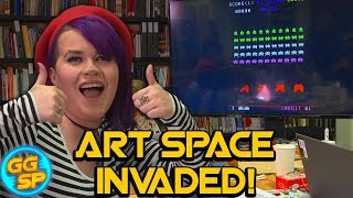 Art Space Invaded!