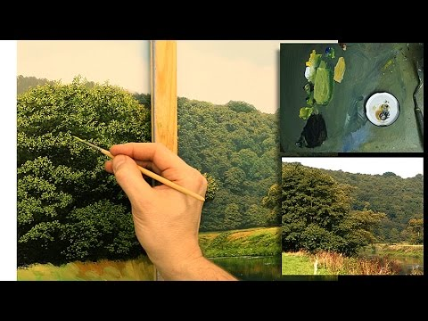 #78 How To Paint Trees | Oil Painting Tutorial