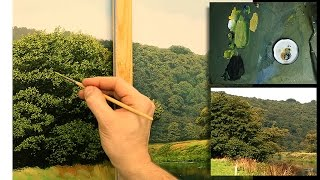 #81 Oil Painting | Tree Techniques | Michael James Smith