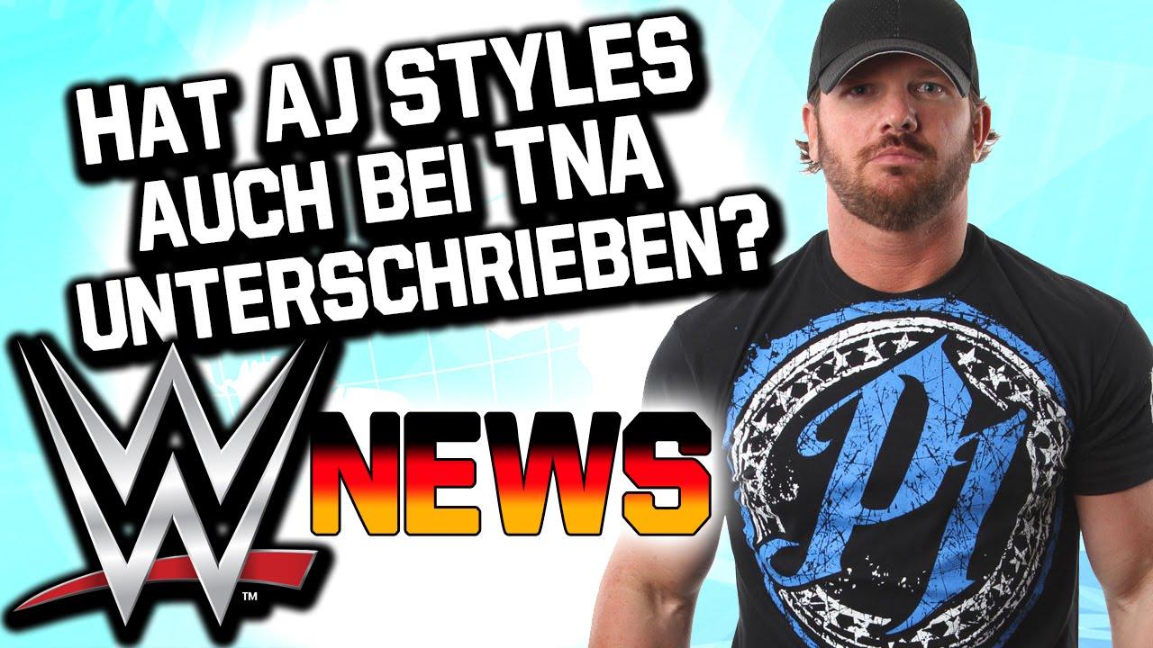 Download Hat AJ Styles auch TNA Vertrag unterschrieben? | WWE NEWS 09/2016