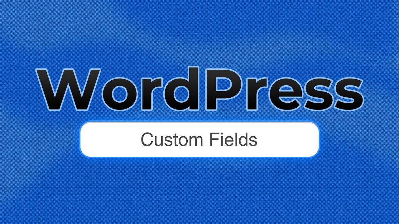 The Essential Guide to WordPress Custom Fields