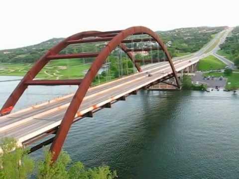 Texas. Loop 360 Bridge by TripBY