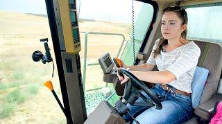 Удары молнии !!!! Урожай пшеницы в Монтане в 2021 году