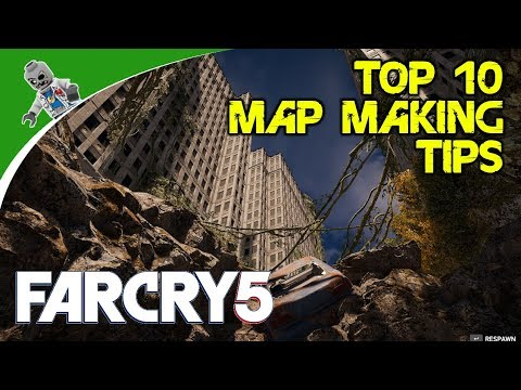 Top Ten Far Cry 5 Map Editor Tips and Tricks - Just a Few Suggestions to Help You Along