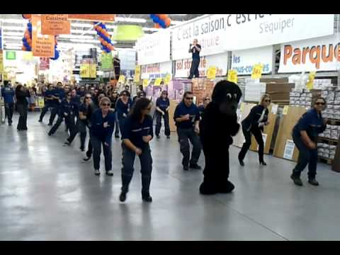 flash mob castorama plaisir ii youtube