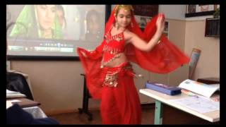 Индийский танец в исполнении Гереевой Шуаны