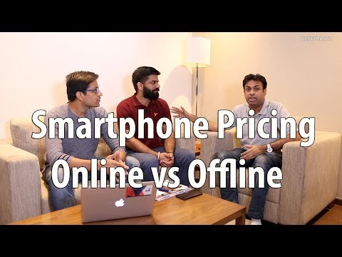 Smartphone Pricing in India Online vs Offline Market