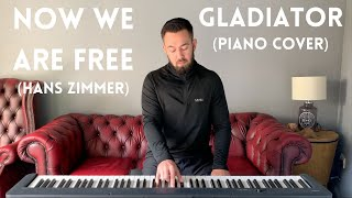 Now We Are Free - Gladiator / Hans Zimmer | Piano Cover