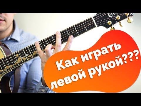 Гитара с нуля. Левая рука гитариста (полезные советы)