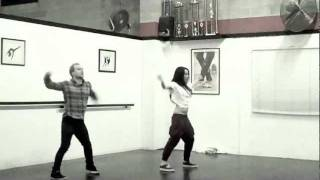 The Edge Of Glory - Lady Gaga - Choreography