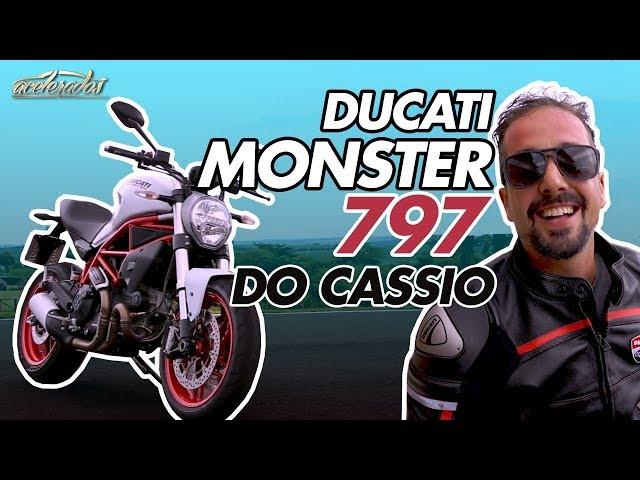 Cassio mostra sua bike! Ducati Monster 797 no Velo Città + rolê de 959 Panigale - AceleMotos #11