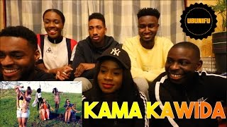 UK Guys Reaction To ( Kama Kawaida - Kagwe Mungai X Mayonde X Fena Gitu X Muthoni Drummer Queen) ||