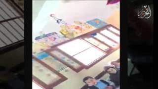 بالفيديو .. مُعلمة تضرب «أطفال روضة» في كفر الشيخ بصورة مبرحة