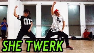 vuclip SHE TWERK - CA$H OUT Dance | @MattSteffanina Choreography (@TheRealCashOut)