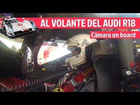 On board Audi R18 de las 24h Le Mans - El Garaje de Lobato