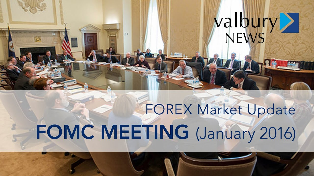Fomc meeting forex