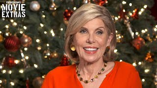 A Bad Moms Christmas   On-set visit with Christine Baranski - Amy's Mother